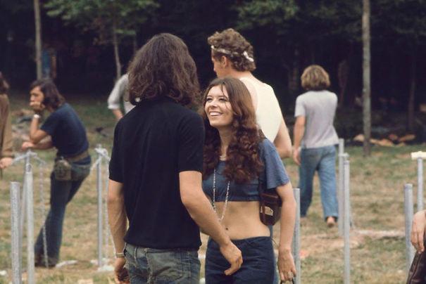 """Фотографии девушек с фестиваля """"Вудсток"""" 1969 года дают понять, откуда взялась мода наших дней вудсток, мода, хиппи, шестидесятые"""