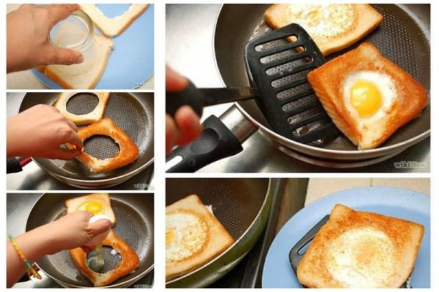 Зачастую основной ингредиент завтрака - яйца. Их тоже можно подать по-всякому Просто, вкусно, еда, завтраки