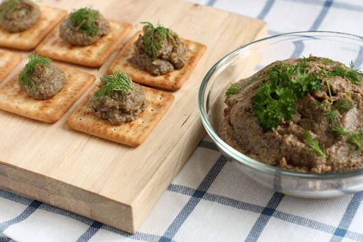 Грибной паштет грибы, еда, жизнь, здоровые, шампиньоны