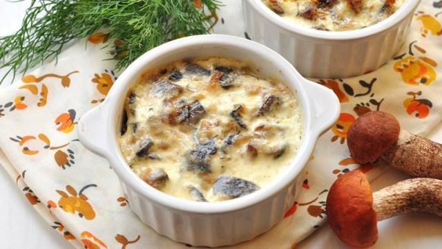 Жульен из шампиньонов грибы, еда, жизнь, здоровые, шампиньоны