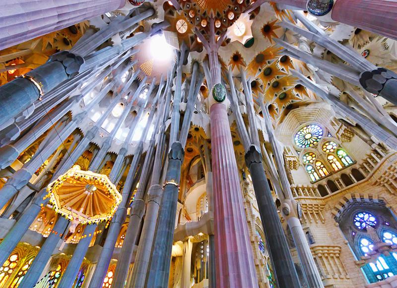 Внутреннее убранство собора. архитектура, интересное, испания
