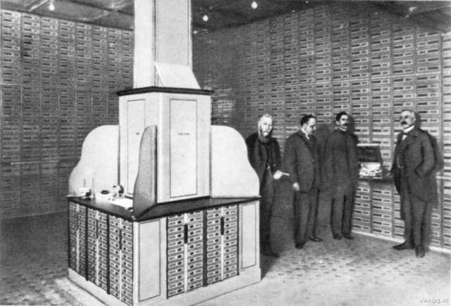 Банковские ячейки Международного коммерческого банка, 1912 год, Санкт-Петербург  история, события, фото
