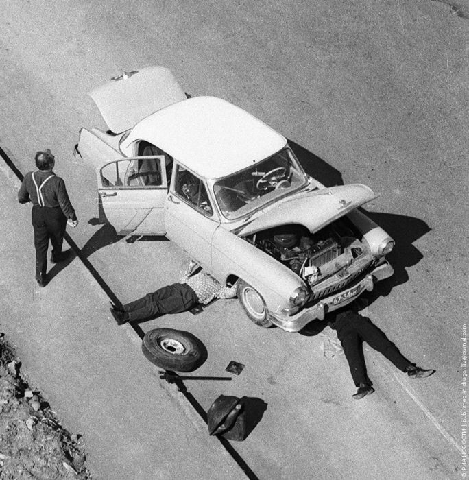 Слово «автосервис» войдет в лексикон советского человека немного позднее. А в 1969 году сломавшуюся на дороге машину нужно чинить своими силами история, события, фото
