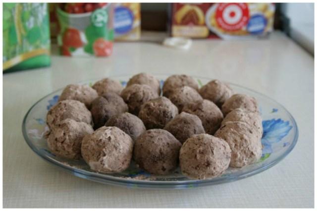 Трюфельные конфетки из детсткой смеси без выпечки, вкусно, интересно, рецепты, сладости