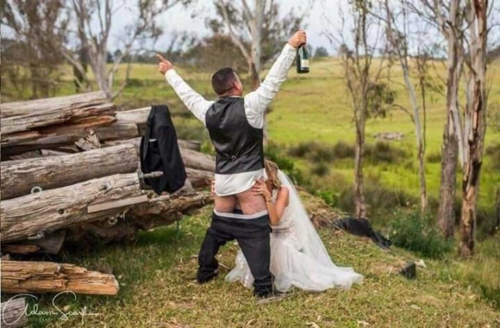 Когда свадьба удалась! вынос мозга, жених, люди, невеста, прикол, свадьба, фотограф, юмор