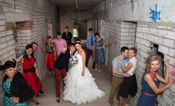 С-стиляги вынос мозга, жених, люди, невеста, прикол, свадьба, фотограф, юмор