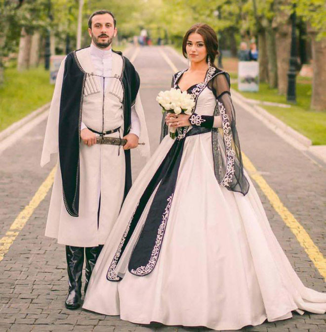 Кавказские народы в мире, жених, люди, невеста, обряд, одежда, свадьба, традиция