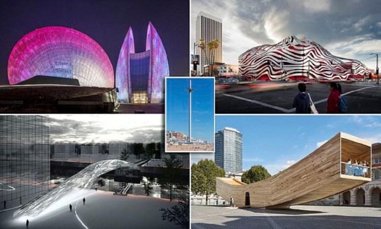 Лучшие архитектурные проекты мира архитектура, дома, здания будущего, красота, необычно, проекты, строения, творчество