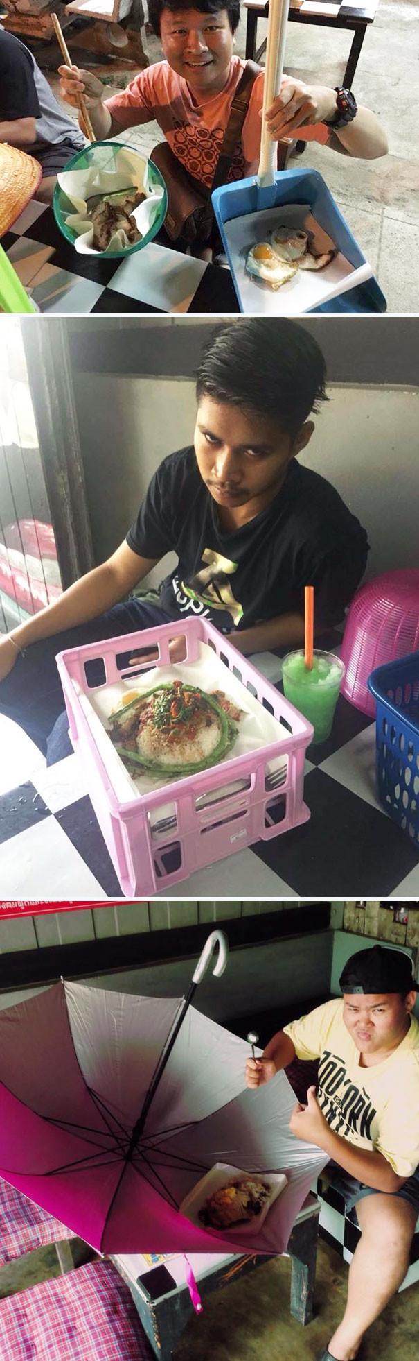 Тайские рестораторы превзошли себя блюда, еда, изыски, оформление блюд, подача блюд, ресторан, смешно, странные фантазии