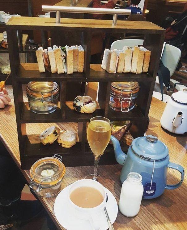 Чай для библиотекаря блюда, еда, изыски, оформление блюд, подача блюд, ресторан, смешно, странные фантазии