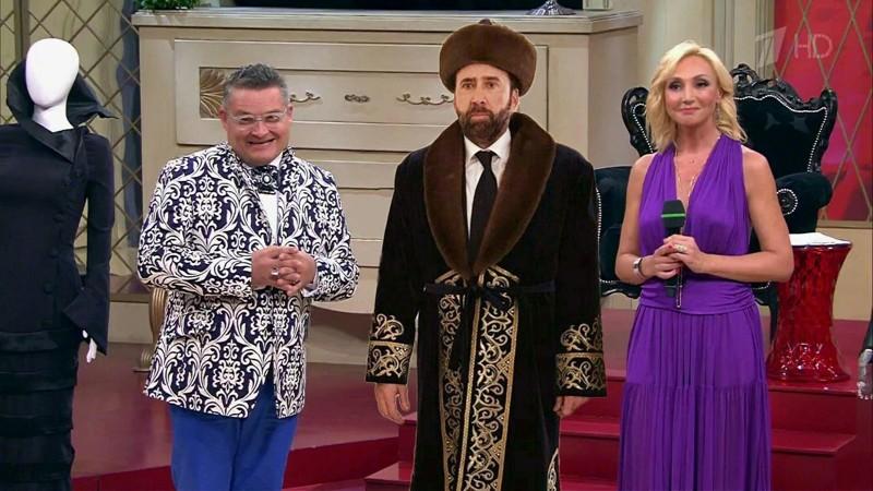 "К разговору о ""1 канале"" казахстан, николас кейдж, прикол, соцсети, фотожаба, юмор"