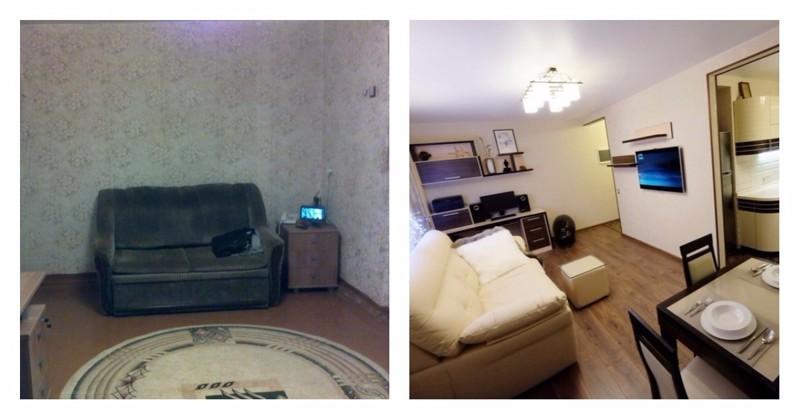 ремонт в маленькой квартире дизайн фото 1