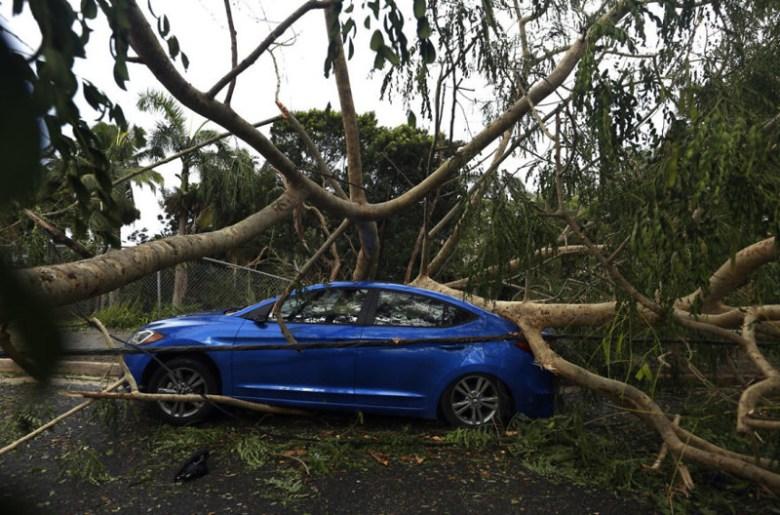 Последствия урагана Ирма в Пуэрто-Рико Центральная Америка, ирма, катастрофа, разрушения, стихийное бедствие, стихия, ураган, флорида