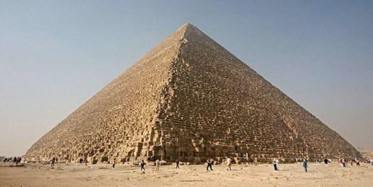 Эта самая большая из всех пирамид высотой 146 метров вплоть до Средневековья была самой крупной искусственной структурой на Земле археолог, археология, история, пирамида, факты, хеопс