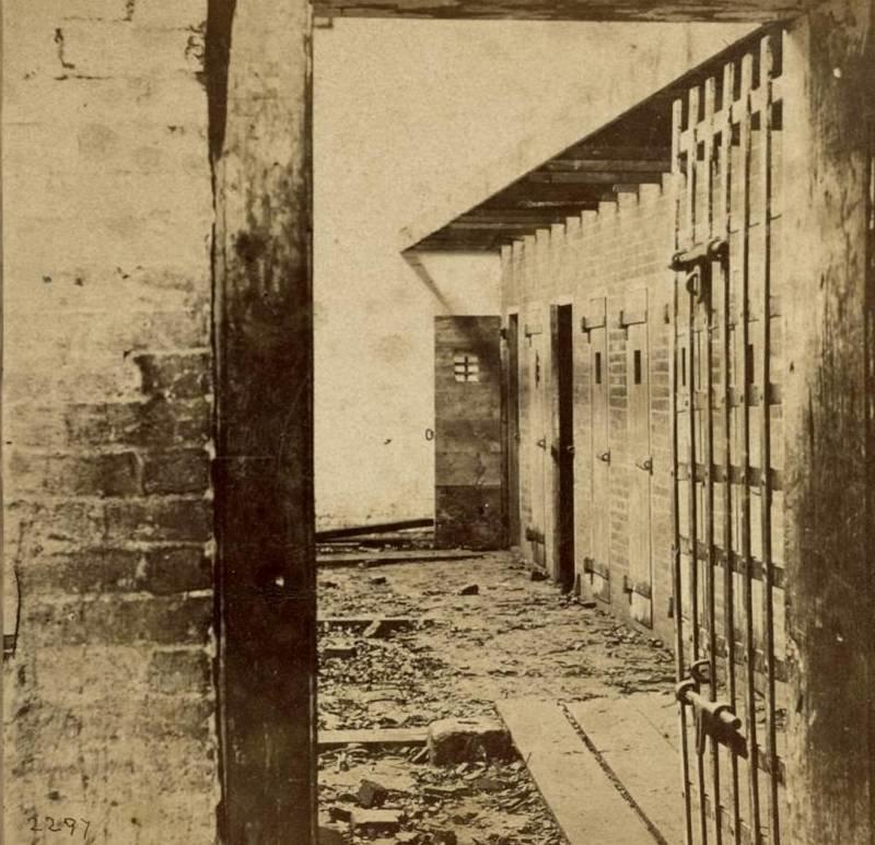 В таких камерах содержались рабы до аукциона аукцион, история, продажа, прошлое, раб, сша, фотография
