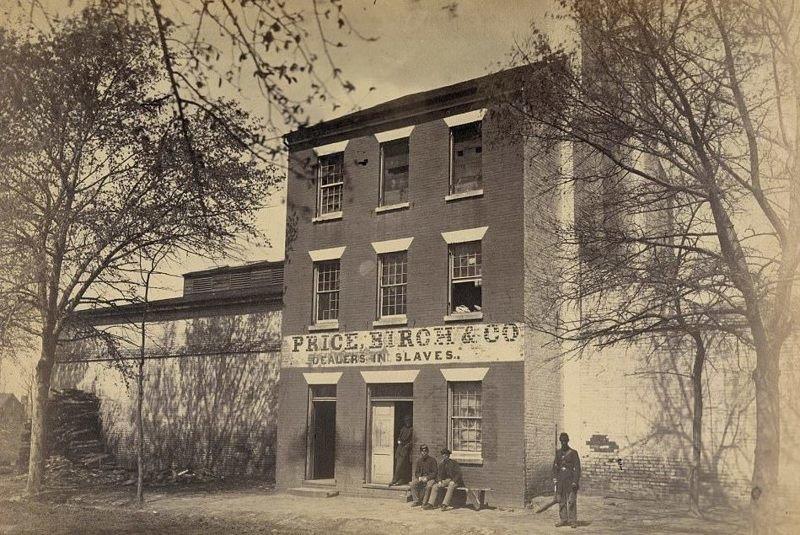 """""""Price, Birch & Co"""" - агентство по продаже рабов в Вирджинии  аукцион, история, продажа, прошлое, раб, сша, фотография"""