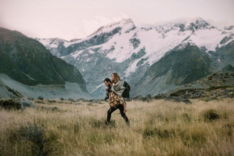 Национальный парк Маунт-Кук, Новая Зеландия. Любовь, отношения, свадебное фото, свадьба, фото, фотограф, фотография