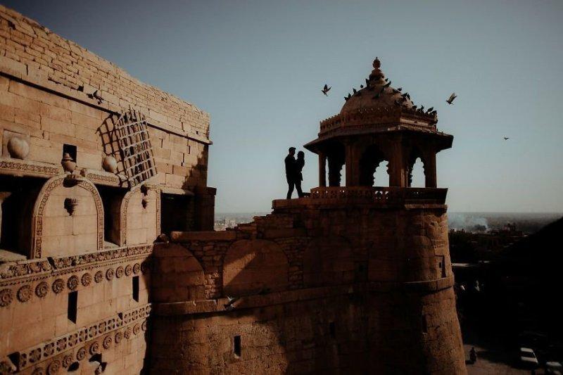 Джайсалмер-Форт, Индия. Любовь, отношения, свадебное фото, свадьба, фото, фотограф, фотография