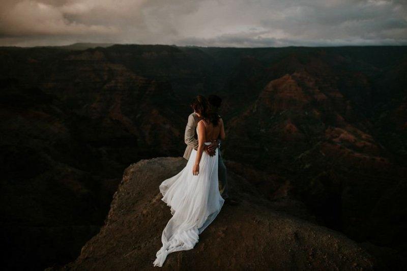 Остров Кауаи, Гавайи, США. Любовь, отношения, свадебное фото, свадьба, фото, фотограф, фотография