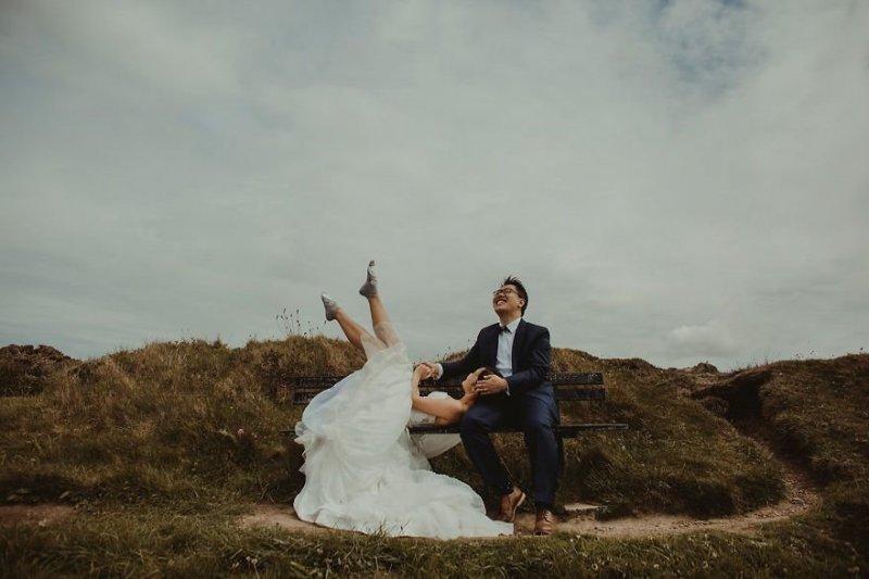 Город Портпатрик, Шотландия. Любовь, отношения, свадебное фото, свадьба, фото, фотограф, фотография