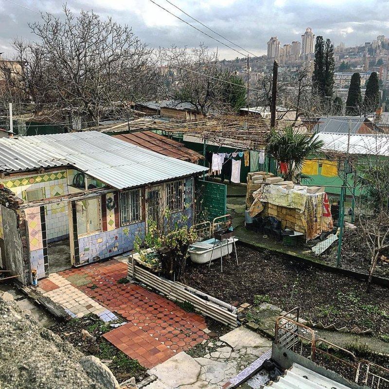 Ялта Города России, всё тлен, города, депрессняк, жильё, развалины, трущобы