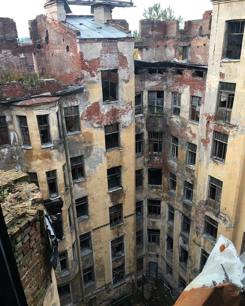 Санкт-Петербург Города России, всё тлен, города, депрессняк, жильё, развалины, трущобы