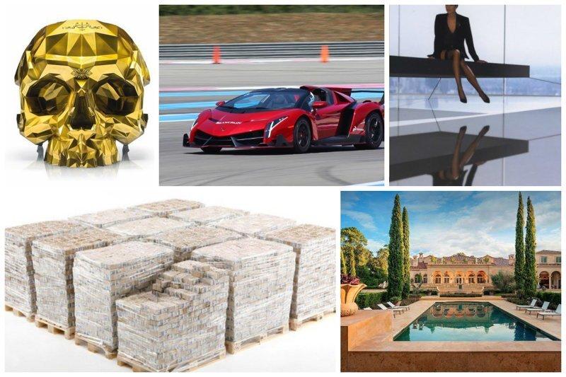 Что купить, когда у тебя туева хуча денег богато, вещи, дорого, миллиардеры, покупки