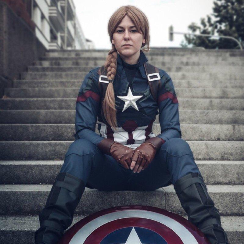 Капитан Америка девушки, кино, комиксы, косплей