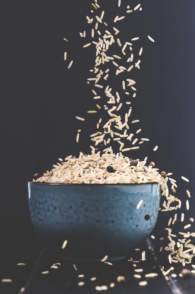 8. Рис для чистоты кофемолки грейпфрут, кофе, очистка, помощь, советы, спасение