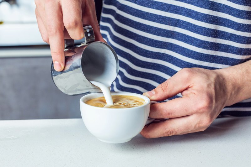 1. Крепкая пена для капучино грейпфрут, кофе, очистка, помощь, советы, спасение