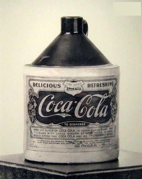 15. Вот как выглядела самая первая упаковка Coca-Cola. Первоначально продукт представлял собой сироп, который нужно было разводить с водой в мире, познавательно, удивительно, фото, фотомир