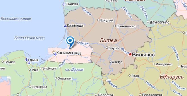 В Литве предлагают отнять у России Калининградскую область калининград, россия, страна