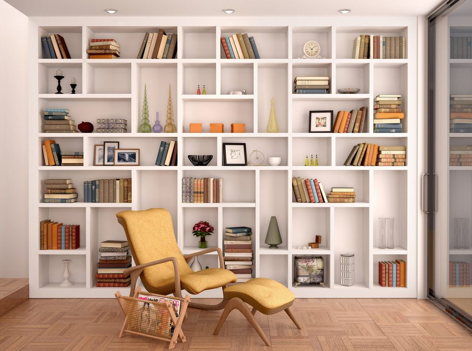 cost to install built in bookshelves