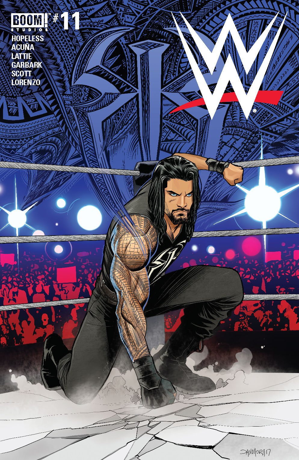 Comic Book Review WWE 11 Flickering Myth