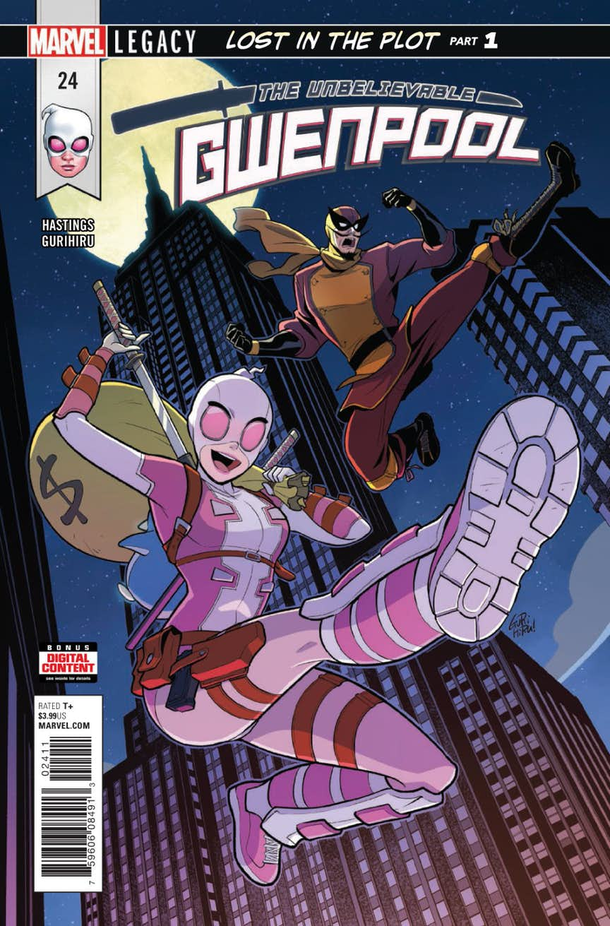 Lost In The Plot Begins In Gwenpool 24 Check Out A Preview Here Flickering Myth