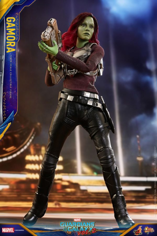 Hot Toys Unveils Its Gamora Collectible Figure From