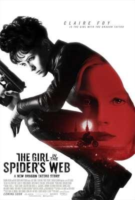 Hasil gambar untuk The Girl in the Spider's Web poster