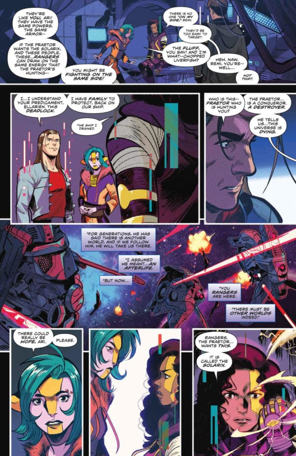 Preview Of Mighty Morphin Power Rangers 33