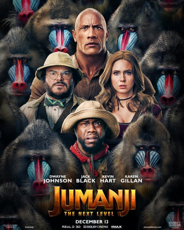 Download Jumanji: The Next Level (2019) Full Movie In Hindi-English (Dual Audio) Bluray 480p [300MB] | 720p [1.4GB] | 1080p [3.3GB]