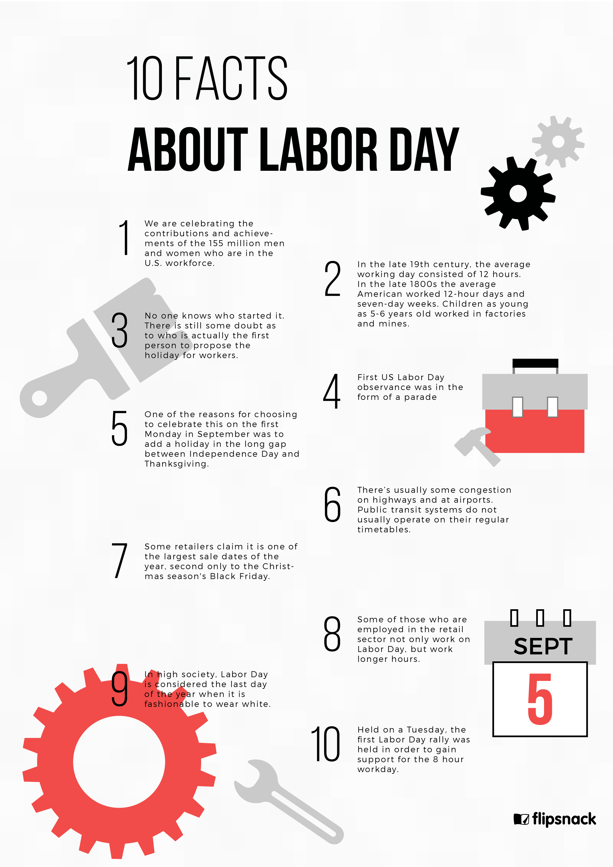10 Facts You Probably Didn T Know About Labor Day Poster