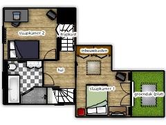 Mijn eerste project - weustenradezolder made with Floorplanner