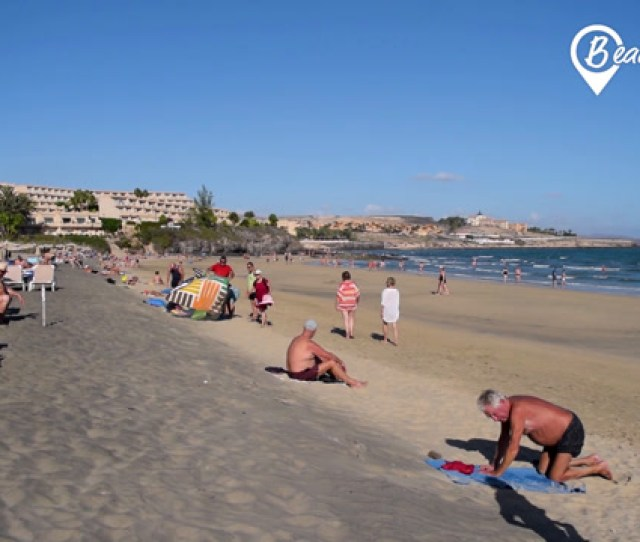 Costa Calma This Is How The Main Beach Looks Like
