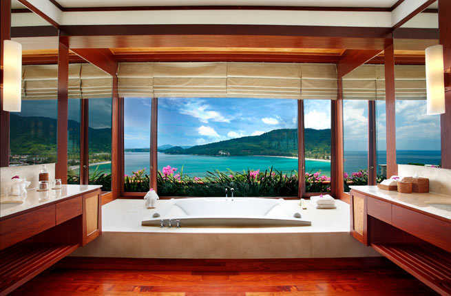 20 Hotel Bathrooms With Amazing Views Fodors Travel Guide