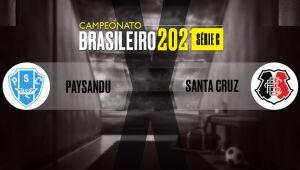 Follow, in real time, the bids of Paysandu x Santa Cruz, by Series C