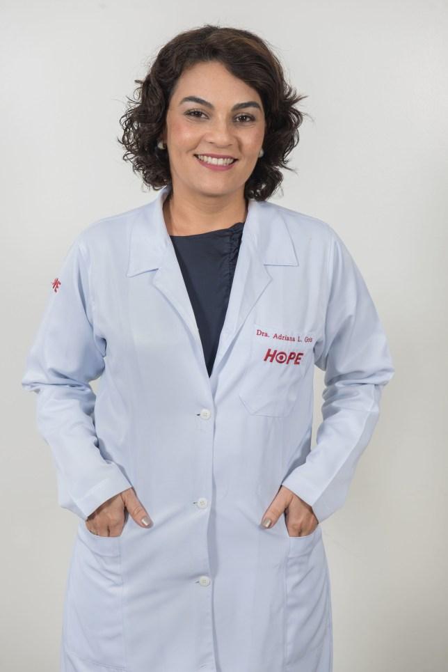 Oftalomologista Adriana Gois