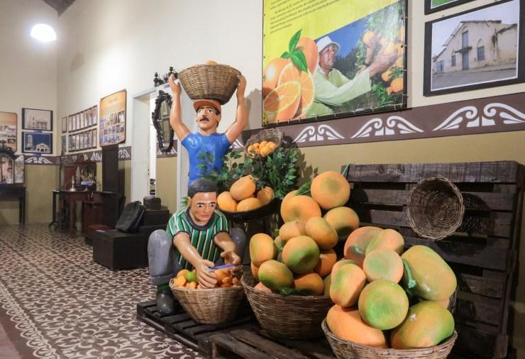 Sairé é conhecida pelo cultivo de laranja