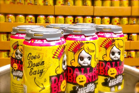 Dallas Blonde Ale Promises It Goes Down Easy Offends Many