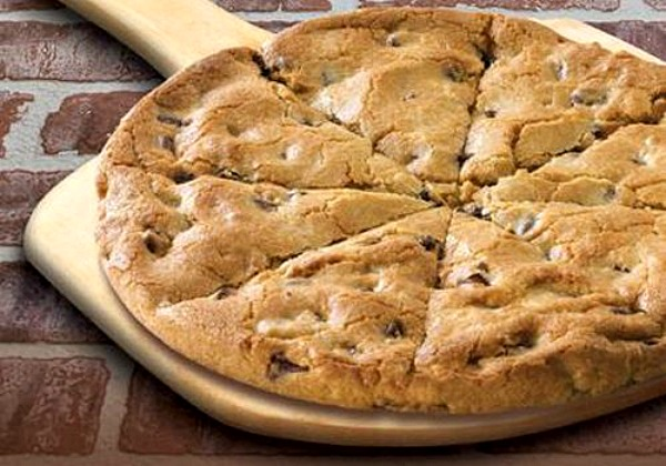 Image result for CHOCOLATE CHIP COOKIE PIZZA -