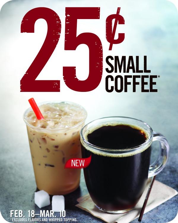 BK $0.25 Coffee