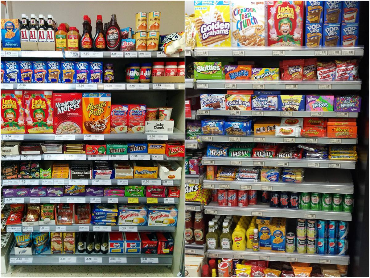 What American Food Aisles Look Like In Other Countries